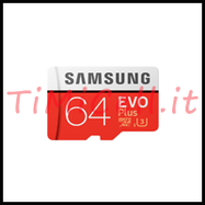 scheda SD 64 GB samsung bari