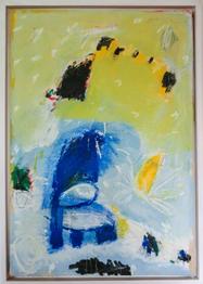Hans Mendler 18. 8. 1997, 53 x 76 cm Acryl auf Papier, gerahmt_1. Preis: 1200.-€