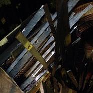 帯鉄やフラットバーと呼ばれる材料の手すり
