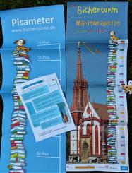 Plakate der Würzburger Büchertürme