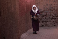 Medina, Marrakesch, Frau