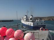 rental accomodations holidays Blue Idea Ploumoguer boat crossed Conquet Molène Ouessant