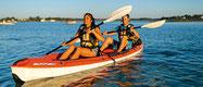 bord de mer vacances plages charente maritime kayak bic borneo chambre d'hôtes gite marennes oléron bourcefranc le chapus