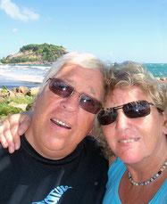 C'est nous, à Sainte Marie, en Martinique...