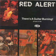RED ALERT - There's a guitar burning