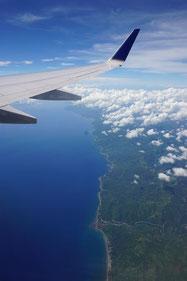 Abflug von Manila