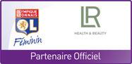 Partenariat LR et OL Féminin  LR Health & Beauty qui est installé à Caluire près de Lyon en France est partenaire avec l'OL féminin