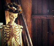 Der Tod zu Besuch im Landhaus