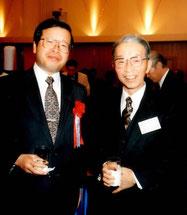 高木氏(当時農産園芸局長)と渡邉氏(当時生研機構理事長)右側