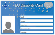 Image de la EU Disability Card