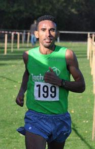 Siegte mit großem Vorsprung: Yossief Tekle