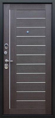 входная дверь стандарт венге