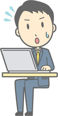 長時間の座位姿勢は腰痛の原因になることがあります