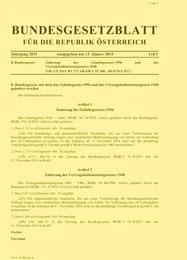 Gesetzestext - auf Bild klicken