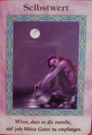 Kartenquelle: Doreen Virtue: Zauber der Meerjungfrauen und Delfine