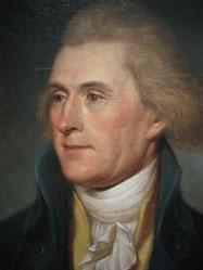 Portrait of Thomas Jefferson as Secretary of State, 1791.