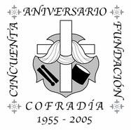 Logotipo del Cincuentenario diseño de Jesús Rodríguez y David Caballero