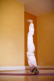 Yoga Kopfstand üben