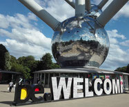 Belgien Belgique Brussels Brüssel Atomium