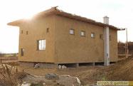 Gemeinschaftshaus in der Fertigstellungsphase