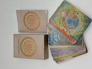 Kartenset Herzverbunden mit der lichten Welt 44 Karten mit Begleitbuch
