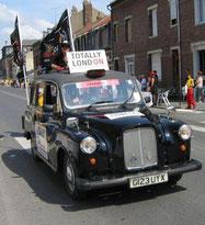 TAXI AUSTIN FX4   LONDRES     Grand départ de Londres en 2007     Caravane Tour de France 2006