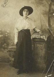 Faustine Vincenti en 1916