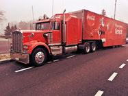 Babbo Natale sponsor Coca Cola