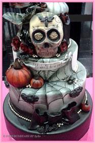 Halloween beim Cakeworld-Wettbewerb - Thema Hochzeitskuchen?