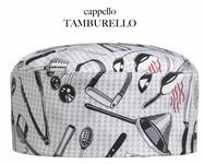 Cappello Tamburello Egochef fantasia Chefwear