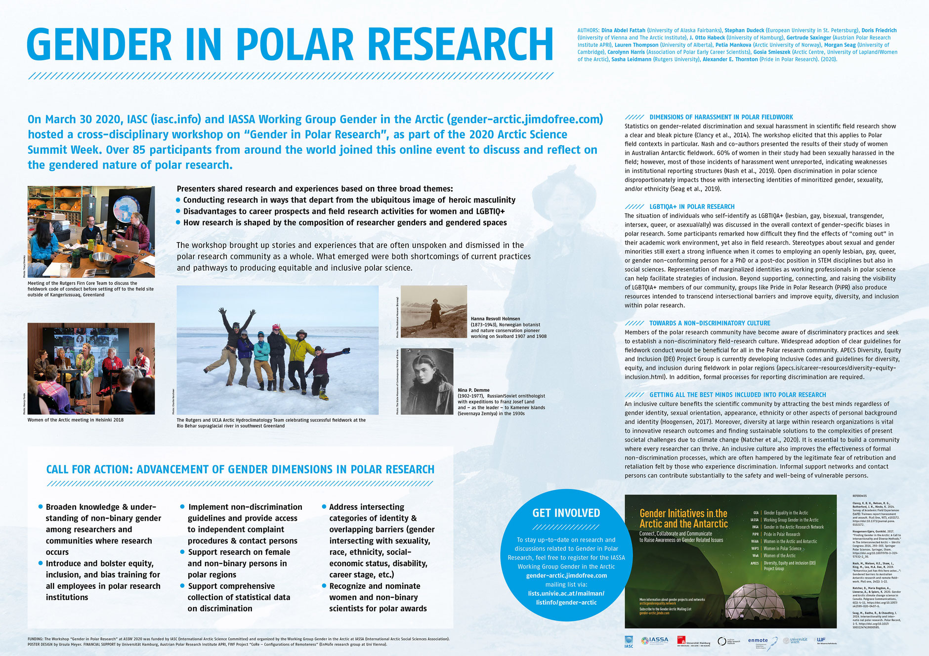Gender in the Arctic poster