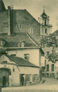 Vilnius. Literatų skersgatvis. Fot. J. Bulhako / The Literati alleyway. Photo J.Bulhak