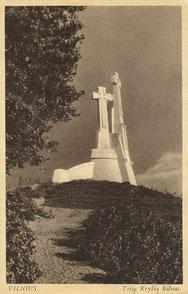 Vilnius. Trijų Kryžių kalnas / The Three Crosses hill