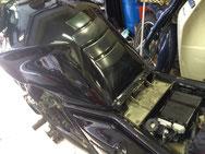 EVOTECバイク用バッテリーカットオフスイッチ装着例 CB-1100 BIG1