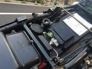 EVOTECバイク用バッテリーカットオフスイッチ装着例 GSX-R1300隼