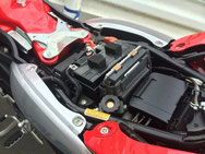 EVOTECバイク用バッテリーカットオフスイッチ装着例 MVアグスタ RIVALE