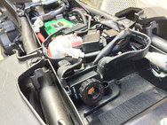EVOTECバイク用バッテリーカットオフスイッチ装着例 MT-09