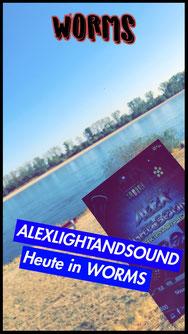 Worms Alex Light and Sound Rhein Strand