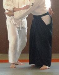 ---> Kamae : position de garde face au partenaire