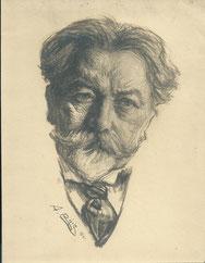 Arthur Nikich  chef d'orchestre 1921