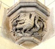 St-Jean et son aigle - Chapelle de Proyart