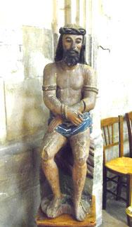Ecce-Homo dans l'église de Poix