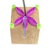 クイリングのカードホルダーの作り方画像4