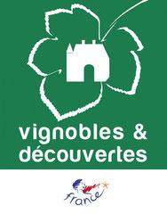 Logo du label de qualité Vignobles et Découvertes