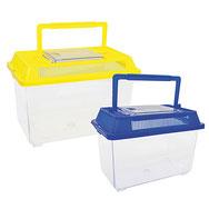 Boîte plastique à insectes pour observer les petits animaux ou poissons.