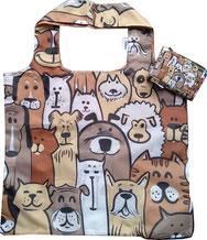 Chilino Bag Tasche Doggies Hunde, braun