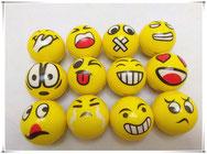 PU Squishy Emoji Balls