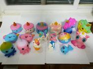 Unicorns Series Assorted PU Squishies