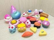 Foods and Cakes Squishies