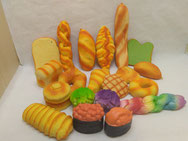 Breads Squishies Slow Rising Toys
